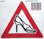 Lady in car-Car Window Windscreen Body Panel Bumper Decal Vinyl Sticker