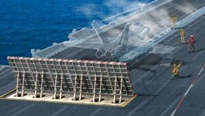 Carrier Deck Section Plastic Kit 1:72 Model ITALERI