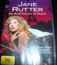 Jane Rutter An Australian In Paris, 2012 (Australia All Region) DVD - Like New