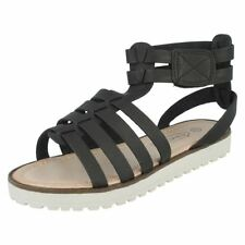 35 Scarpe sandali neri per bambine dai 2 ai 16 anni