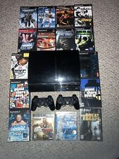 Playstation 3 backwards compatible console, games and controllers bundle package