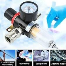 14 Air Brush Filter Regulator Gauge In Line Compressor Water Moisture Trap