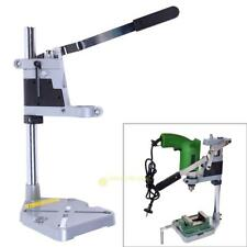 Double-head Electric Drill Holding Holder Bracket Grinder Bench Clamp Rack Stand
