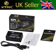 XTAR XP1 USB Charger 3.7V Li-ion/IMR 14500/16340/18350 & AAA/AA Ni-MH Batteries