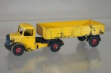 DINKY 521 BEDFORD ARTICULATED LORRY YELLOW BLACK mw