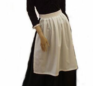 Victorian Apron - Fancy Dress Victorian Edwardian School Trips - Size Choice