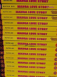 Manga Love Story Katsu Aki (Deutsch)  Einzelbände
