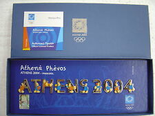 ATHENS 2004 MASCOTS ATHENA PHEVOS-SPECIAL EDITION ATHENS 2004 OLYMPIC GAMES PINS
