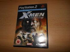 X MEN LEGENDS 2 RISE OF APOCALYPSE PLAYSTATION 2 PS2 MINT COLLECTORS