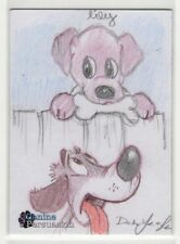 2018 5finity The Canine Persuasion Dean Yeagle & Lilia Costantino Sketch Card #4