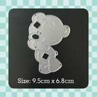 Metal Cutting Die - BEAR - Cute - Stencil - Embossing - Crafting - Scrapbooking