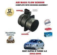 para Seat León 1.8 Cupra R Turbo 2002-2006 NUEVO Sensor de masa de AIRE + FUNDA