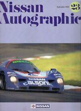 Nissan Autographic Magazine No 23 September 1990 Export Markets Brochure