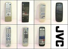Assorted JVC AV Receiver CD TV Remote Controls