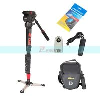 Jie Yang JY0506 Aluminum Alloy Professional Monopod Tripod Kit for All Cameras