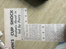 m6-4 ephemera 1967 football report boston 2 lynn 0 oakley