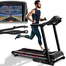 Laufband Sportstech F31 mit Selbstschmierfunktion App Steuerung kompakt klappbar