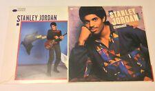 2 LP's Stanley Jordan-Magic Touch & Standards Volume 1