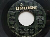 "GERRY MULLIGAN - King Of The Road / Downtown PROMO 7"" JAZZ Limelight 1960's"