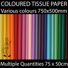 Acid Free Tissue Paper Gift Wrapping Craft Multiple Colours Biodegradable BRIGHT