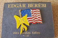 Us U.S. United States American Flag Yellow Ribbon lapel pin