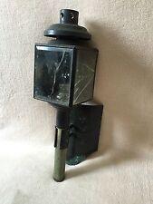 alte Kutschenlampe Kutschenlaterne Signallampe Laterne Kutsche mit Halterung