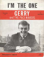 I'm The One - Gerry and The Pacemakers - 1964 Sheet Music