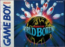 World Bowling (Nintendo Game Boy, 1990) Instruction Booklet ONLY
