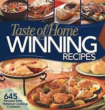 Taste of Home Winning Recipes : 645 Recipes from National Cooking Contests...