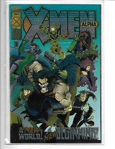 X-MEN  ALPHA & OMEGA 2 Issue Comic Book Set Issues Near Mint RARE!