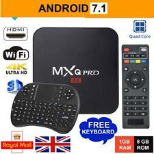 2018✔ MXQ PRO 4K TV BOX Android 7.1 Quad Core Smart Media Player 1GB+8G