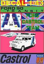 DECAL 1/43 FORD TRANSIT ASSISTANCE FORD CASTROL TEAM (07)