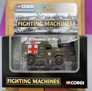 CORGI Fighting Machines Collection T214-WC54 1/2 Ton 4X4 Ambulance In Box