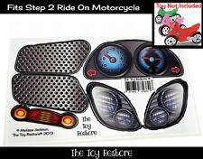 Replacement Decals Stickers fits Step 2 Ride-on Motorcycle Bike