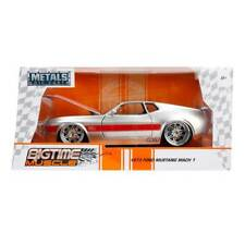 Bigtime Muscle Series: 1973 Ford Mustang Mach 1 (Silver) 1/24 Scale