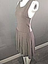 (S) PARKER MINI DRESS/ OUTSTANDING DESIGN / CUTOUT BACK  SHADES OF GRAY     NWOT