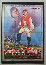 CP DU FILM - FANFAN LA TULIPE AVEC GERARD PHILIPE - NUGERON E44*