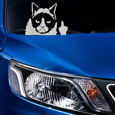 Cute Funny Grumpy Cat For JDM Auto Car/Bumper/Window Vinyl Decal Sticker Decals