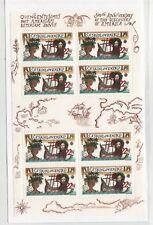 Czechoslovakia Sc 2856a NH Minisheet of 1992 - Europa