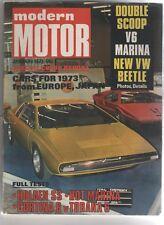 Modern Motor 1973 Jan Holden SS HQ Torana V6 Cortina 6 Coronet VW Golf Marina Sh