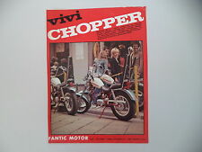advertising Pubblicità 1972 MOTO FANTIC CHOPPER 50