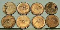 Canada 1867-1967 One 1 Cent Penny Copper Canadian Coins lot of 8 ~Free Shipping~