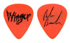 Vintage Winger Reb Beach Signature Orange Guitar Pick - 1993 Pull Tour
