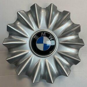 Single OEM SILVER Center Cap for 16-20 BMW 740e 740i 745e 750i M760i 6868053-01