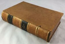 1884 Leather 1st Edition Life of Sam Houston of Texas / Literary Remains / Crane