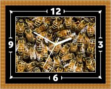 Wasps Colony Funny Wall Clock Present Christmas Birthday (Can Be Personalised)