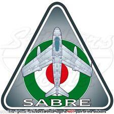 SABRE F-86 IRAN North American F-86F Iranian AirForce IIAF Persian Decal-Sticker