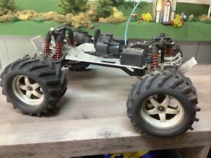 traxxas tmaxx roller Aluminum Bulkheads Tires Parts Rc Truck