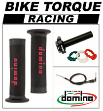 YZF600 R6 1999 - 2007 Domino XM2 Quick Action Throttle Kit Black Red RR Grips