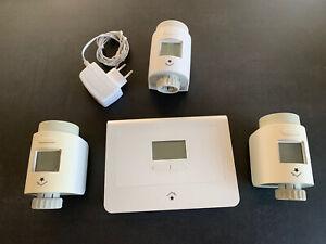 SmartHome RWE / Innogy / Livisi  3x Heizkörperthermostat RST + unbegr. Zentrale
